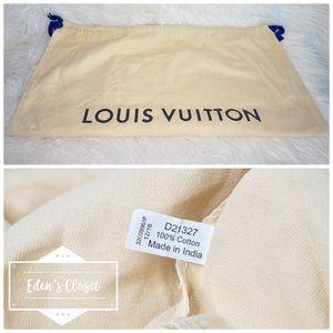 Handbags - •Authentic Louis Vuitton Drawstring Dustbag•
